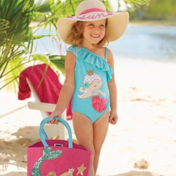 0241ef97fe48d Mud Pie Swim | 1 Piece Mermaid Suit 9 12 Months | Poshmark